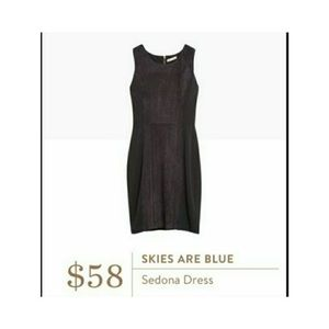 skies are blue  Sedona dress regular black XS
